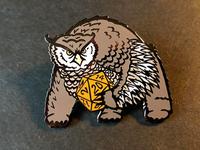Owlbear Enamel Pin