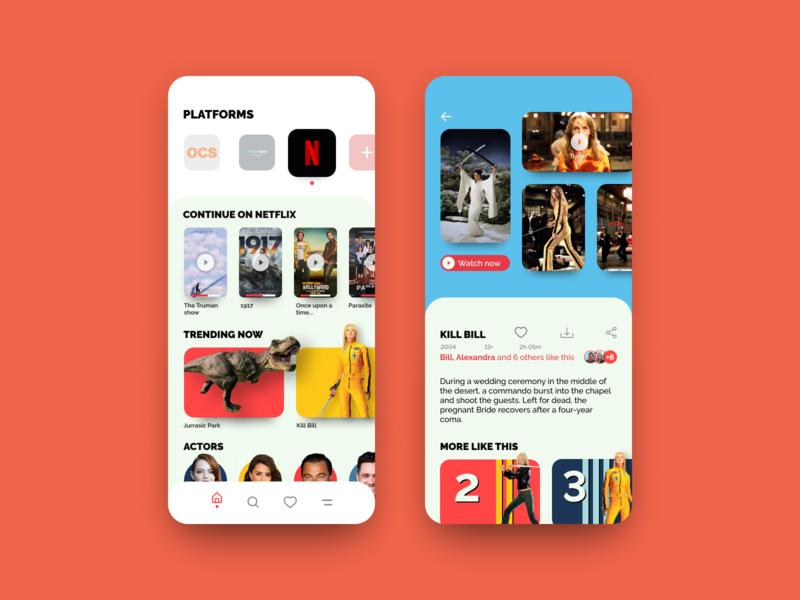 Service App for Platforms Videos Online