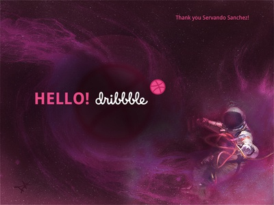 Hello Dribbble! 1st Shot here