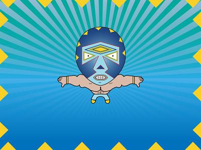 Luchador Digital Illustration pattern design mask design creative illustration graphic design digital illustration illustration design illustration