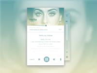 Day 009 - Music Player #DailyUI