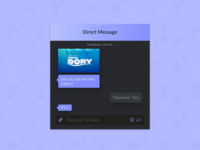 Day 013 - Direct Messaging #DailyUI