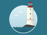 Flat Lighthouse
