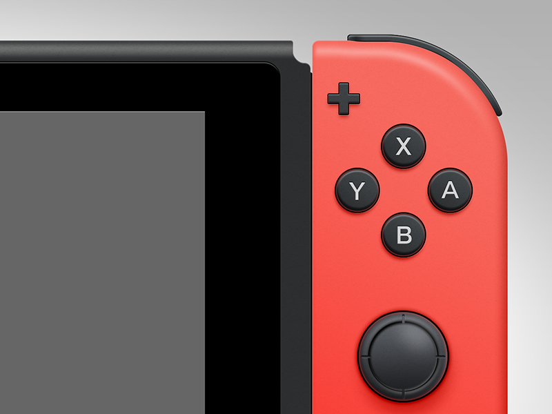 Download Nintendo Switch PSD Freebie