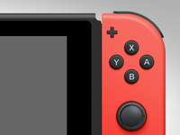 Nintendo Switch PSD Freebie