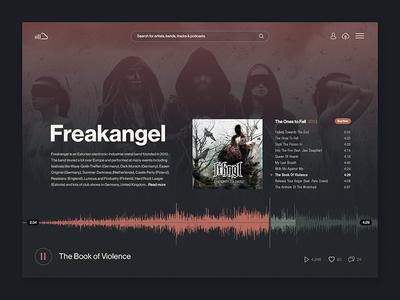 Soundcloud artist audio ui soundcloud audio music