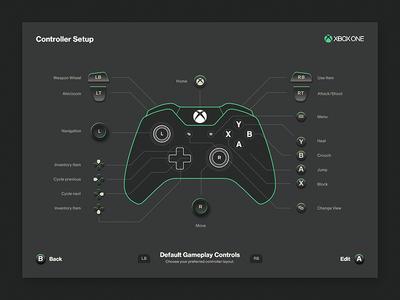 Xbox Controller Button Layout ui controller xbox