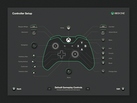 Xbox Controller Button Layout
