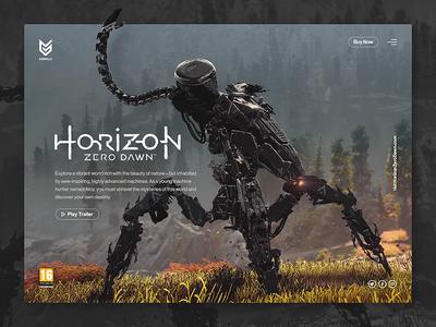 Horizon Zero Dawn games ui horizon zero dawn