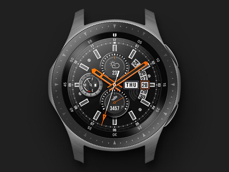 Samsung Galaxy Watch (Vector Retrace) vector samsung galaxy watch photoshop