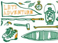 Adventure- Mug Design