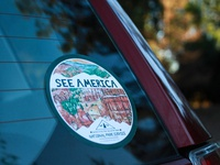 See America Sticker Design