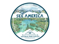 See America Sticker #2 Design