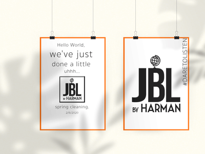 JBL- Rebrand and Campaign Mockup- Part 1