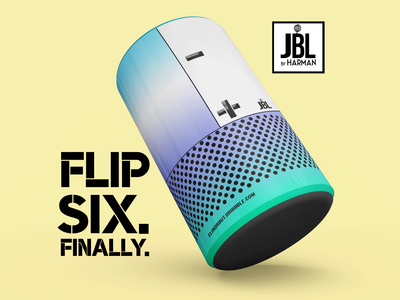 JBL Flip 6 Rebrand Campaign- Part Two