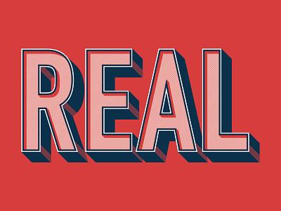 Real typography type design graphic design