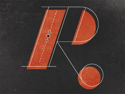 R design typography type lettering