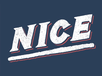 Nice design typography type lettering hand lettering graphic design
