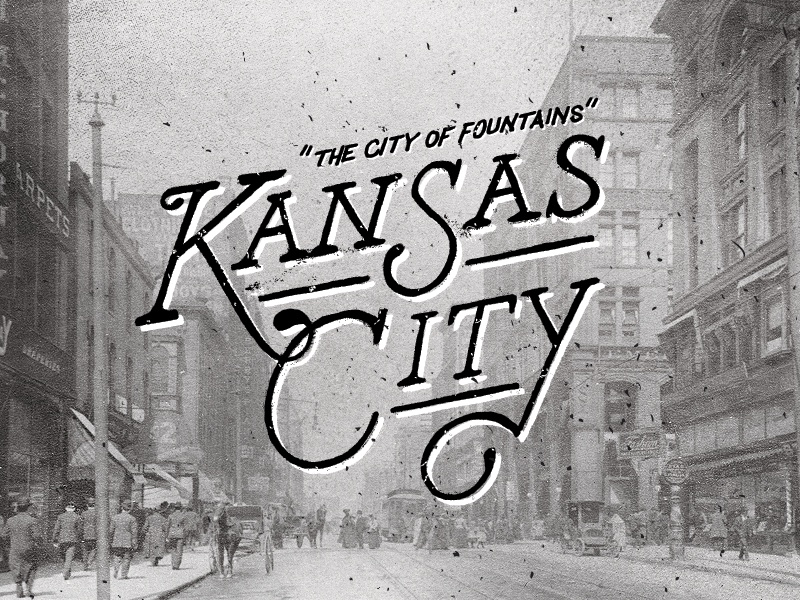 The City of Fountains Part Deux typography type design lettering hand lettering vintage graphic design