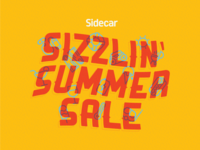 Sizzlin' Summer Sale Email Header