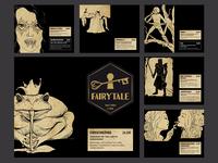 Fairytale Barmenu Artwork