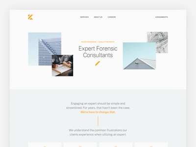 Keystone Homepage web design consulting marketing website branding typography ux web ui digital flat simple minimal clean