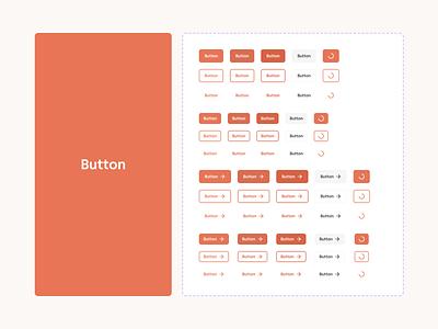 Renno – Design System orange renno documentation design system system stepper slider button web ui digital flat simple minimal clean