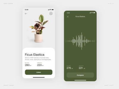 Plant Acoustics App