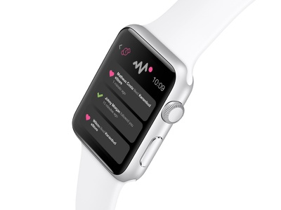Dribbble Activity concept ios apple dribbble ui ux apple watch concept