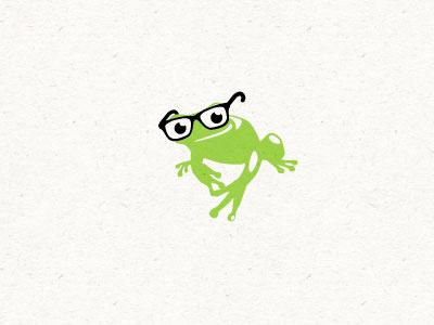 Frog logo frog toad logo vector illustrator