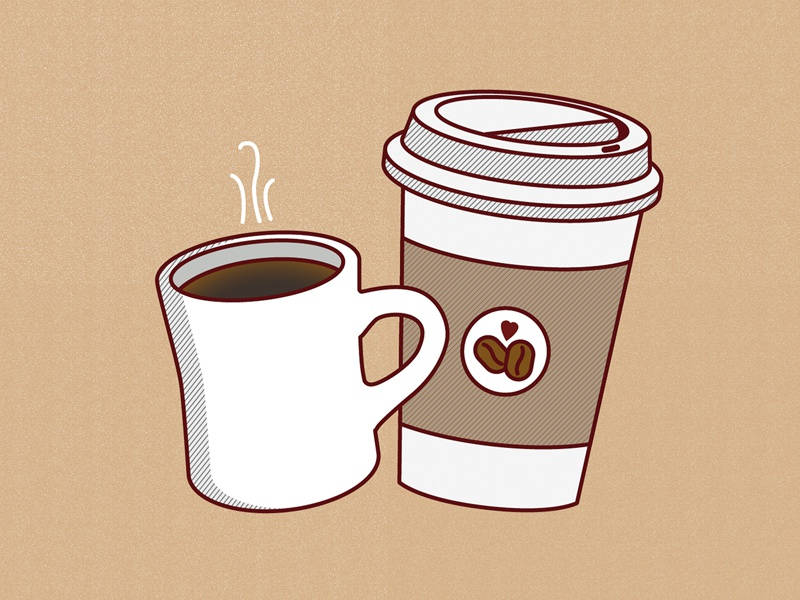 Free Coffee Wallpaper By Alexis Rawlins On Dribbble