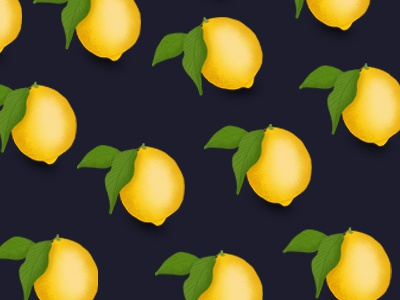 Little Lemons texure fruit leaves lemons