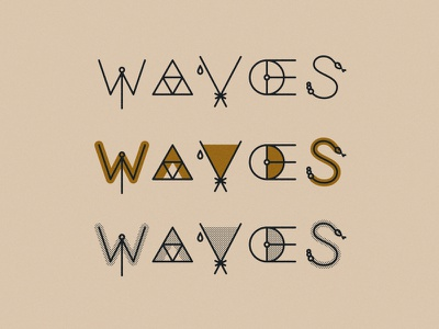Waves identity type branding