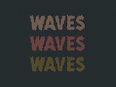 Waves sound waves type branding