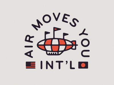 Air Moves You graphics blimp apparel