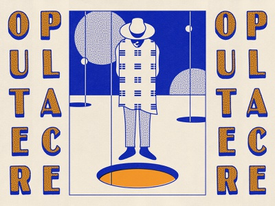 Outer Place symbolism portal space cowboy illustration