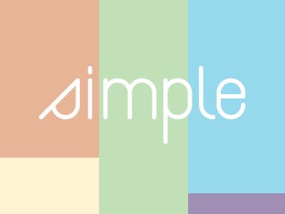 simple type specimen geometric type minimal light