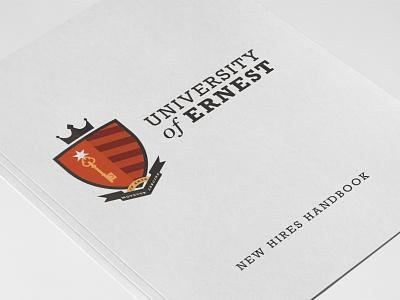 Ernest Crest crest medieval red hearldry serif
