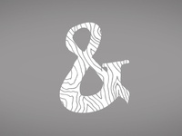 Ampersand White Wood