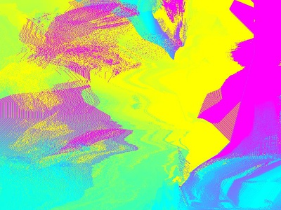 Pixeldrift3 gradient drift pixel art generative rainbow