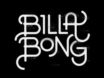 Billabong type stuff lettering type billabong sketching