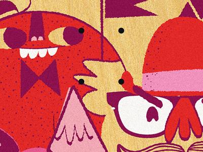 Homewood Pro illustration monsters