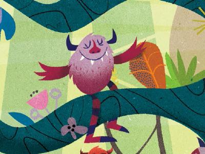 Zeez monsters illustration childrens book monsters