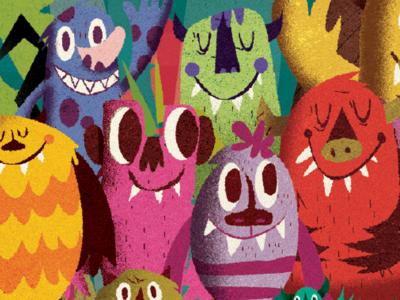 More Zeez Monsters illustration monsters