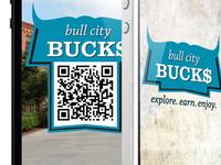Bull City Bucks –Logo