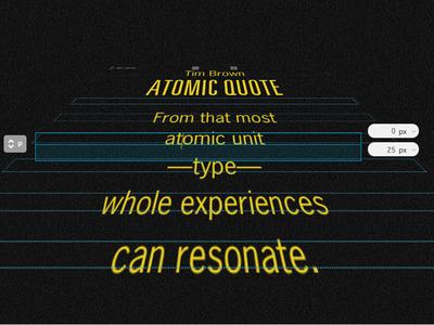 That's Atomic