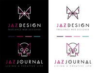 Branding for Jaz Design & Jaz Journal