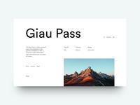 Giau Pass