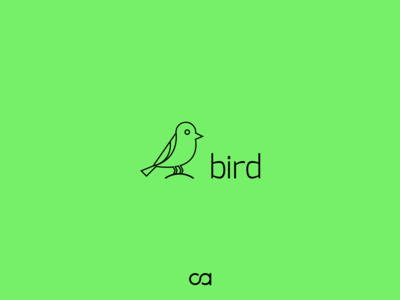 Bird mark minimalism minimal mark logo illustraion icon geometry design bird animal
