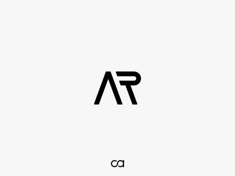 AR mark logo identity icon branding